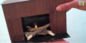 froggy craft fireplace